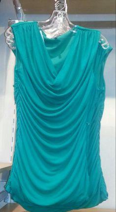 Love this aquamarine shirt