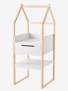 Table à langer Tipi blanc Baby Gym, Baby Design, Baby Decor, Bunk Beds, Toddler Bed, Bedroom, Furniture, Display Ideas, Alice