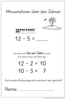 Kostenlose Arbeitsblätter mit Übungen und Aufgaben im Zahlenraum 20 ...