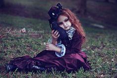#goth #gothic #steampunk #child #girl #photography