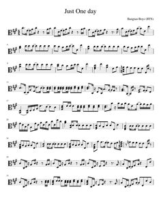 Just One Day - BTS - Viola   MuseScore