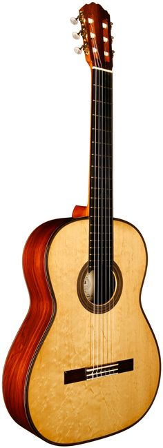 2014 Hermann Hauser III Concert Classical guitar. Spruce top with Brazilian Rosewood back and sides.