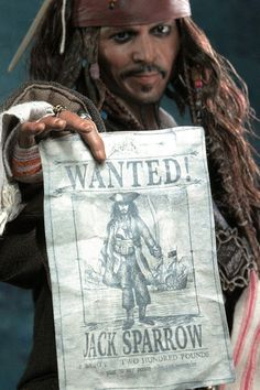 *CAPTAIN JACK SPARROW ~ Doll