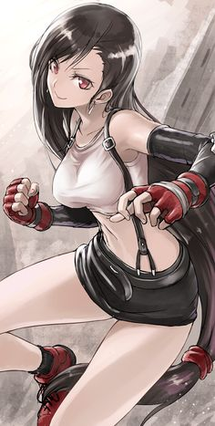 Tifa Lockhart Final Fantasy                                                                                                                                                      Más