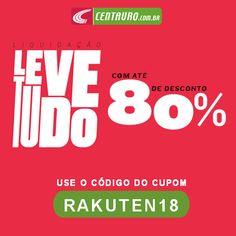 Cupom 18% de Desconto em todo site da Centauro Use o código do cupom   RAKUTEN18 na finalização do pedido  cupomdesconto  desconto  esporte   futebol ... af1792350d224
