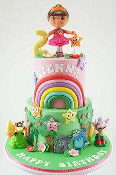 Dora Cake La Exploradora The Explorer Birthday