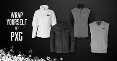 Wrap yourself in PXG this winter and take the chill out of your game. PXG outerwear, vests, jackets and more available. #GolfGear #GolfClothes #ParsonsXtremeGolf