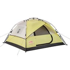 The Coleman Instant Dome 3 person tent has a coherent rain fly and gives remarkable water protection. Buy your Coleman Tent today!  sc 1 st  Pinterest : coleman 9 x 7 tent - memphite.com