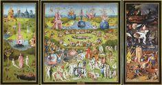 """""""El jardín de las de las delicias"""", de Hieronymus Bosch (El bosco)"""