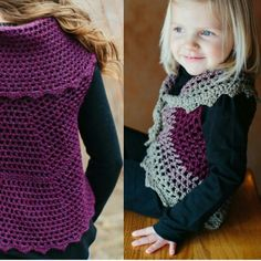 Shop owner Abbey is anindependent crochet designer who is passionate about creating designs that inspire others to create. She has mastered how to do various stitches, how to read a pattern, and how to createher own designs, and how to write those designs into a pattern someone else can follow. Love this sweet bolero design that comes in 14 sizes! **THEFIREFLYHOOK.ETSY.COM**