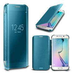 Samsung Note 8 Case Flip Mirror Cover - Sky Blue - 4516660543623_32071061078151