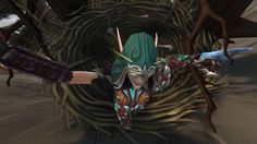"""""""Fell off the mountain, landed in a large nest just behind trueshot lodge. #selfie  #Warcraft"""""""
