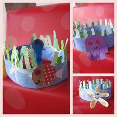 Bricolage pour petits et grands : couronne des mers
