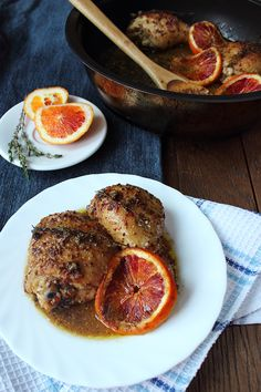 Angellove's Cooking: Chicken with oranges / Blood Orange Chicken