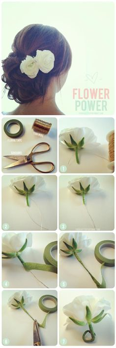 diy flower wrapping