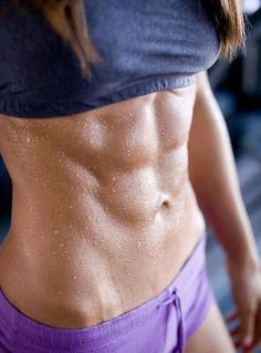 I would loovvveee to have abs like this. It will happen! I'm determined! :)
