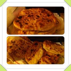 Pita (flat bread) .. This is not pita pocket.. So soft and yummy!!! by maisah3, via Flickr