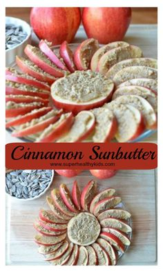 Snacking with Sunflower Seeds and Cinnamon Sunbutter - Turn these seeds into a great snack for you and the kids! http://www.superhealthykids.com/snacking-with-sunflower-seeds-and-cinnamon-sunbutter/