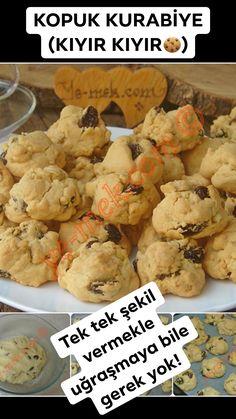 Broken Cookie Rezept, How To (Hacke ein Cookie) - Yemek Tarifleri: Kolay, Pratik, Lezzetli - Rezepte Delicious Cookie Recipes, Yummy Cookies, Cupcake Cookies, Yummy Food, Tasty, Healthy Recipes, Food Preparation, Food To Make, Food And Drink