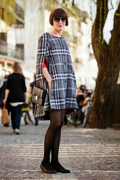 CAPES DO WINTER IN STYLE |STREET STYLE SECONDS
