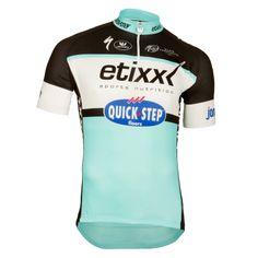 4d8bcaa60 Vermarc Etixx Quick-Step Team Cycling Jersey - 2015