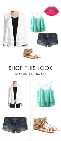 """""""Untitled #14"""" by people-are-annoying ❤ liked on Polyvore featuring Kobi Halperin, Hollister Co. and Aquazzura"""