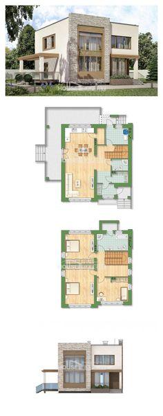 Ev villa projesi 185-001-R | House Expert