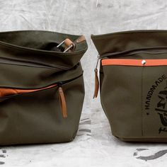 Duffel Bag Tote // Handmade & Upcycled by by peace4youBAGS on Etsy