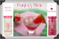 Pink Zebra Sprinkles Recipe featuring I <3 Watermelon and Amaretto Cream sprinkles www.sprinkledpz.com