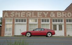 1980 BMW M1. The solitary supercar