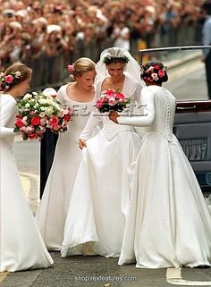 Lady Sarah Armstrong-Jones, daughter of Princess Margaret and Antony Armstrong-Jones, 1st Earl of Snowdon married Daniel Chatto on July 14, 1994.