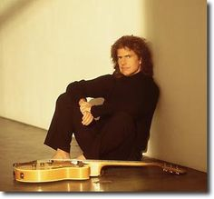 Pat Metheny, one of the greatest guitarists in the world.