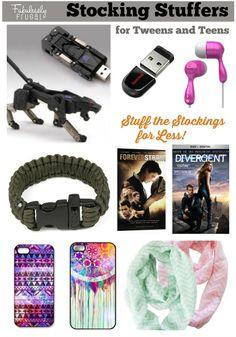 Stocking Stuffer Ideas for Tweens & Teens