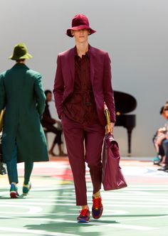 @Burberry London Collection Men Spring/Summer 2015