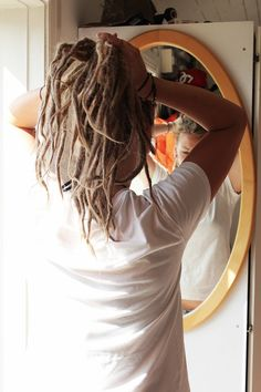 pin me up dreads -If I could go back to 20 I would have dreads