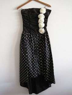 Vintage 80s Gunne Sax prom dress