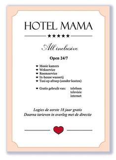 "Hotel MamaDit bord is een origineel door Signs of Time vervaardigd wandbord. Het bord is op eerste klas aluminium-composiet-plaat ("" Qoutes, Life Quotes, Mamas And Papas, Proud Of Me, S Quote, Family Quotes, Life Lessons, Haha, Positivity"