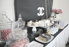 #fashiontheme   chanel party