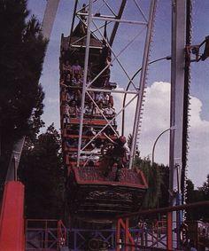 El increíble Mas-Max del Parque de Atracciones de Madrid
