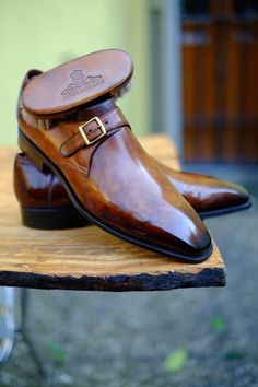 http://chicerman.com dandyshoecare: Briar Root - Corthay Edition by Alexander Nurulaeff Beautiful Shoes most extraordinary Artist of Patina = Great Work of Art #menshoes