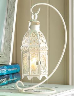 """WEDDINGS 10 ELEGANT LANTERN CENTERPIECES WITH STANDS 13"""" TALL"""