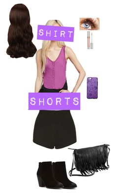 """Chapter 3 Outfit for Bitter Blues, Trying Trues, and Losing You"" by carolineleee ❤ liked on Polyvore featuring Forever 21, Topshop, Report and WigYouUp"