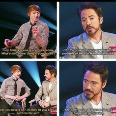 Robert downy jr does what Robert downy jr wants to