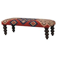 I don't know how to decide which kilim bench I like best.