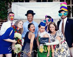 Wedding Photo Booth Session- Megan Ward Photography