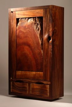 Blackstone Design natural wood cabinet