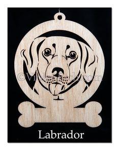 Labrador ornement-Labrador cadeau-Labrador par VioletEtch sur Etsy