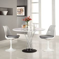 100+ White Round Pedestal Dining Table - Cool Modern Furniture Check more at http://livelylighting.com/white-round-pedestal-dining-table/