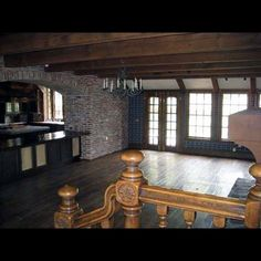 Neverland Ranch, downstairs dining room in the main house