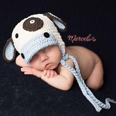 Moo Moo Baby Boy Hat